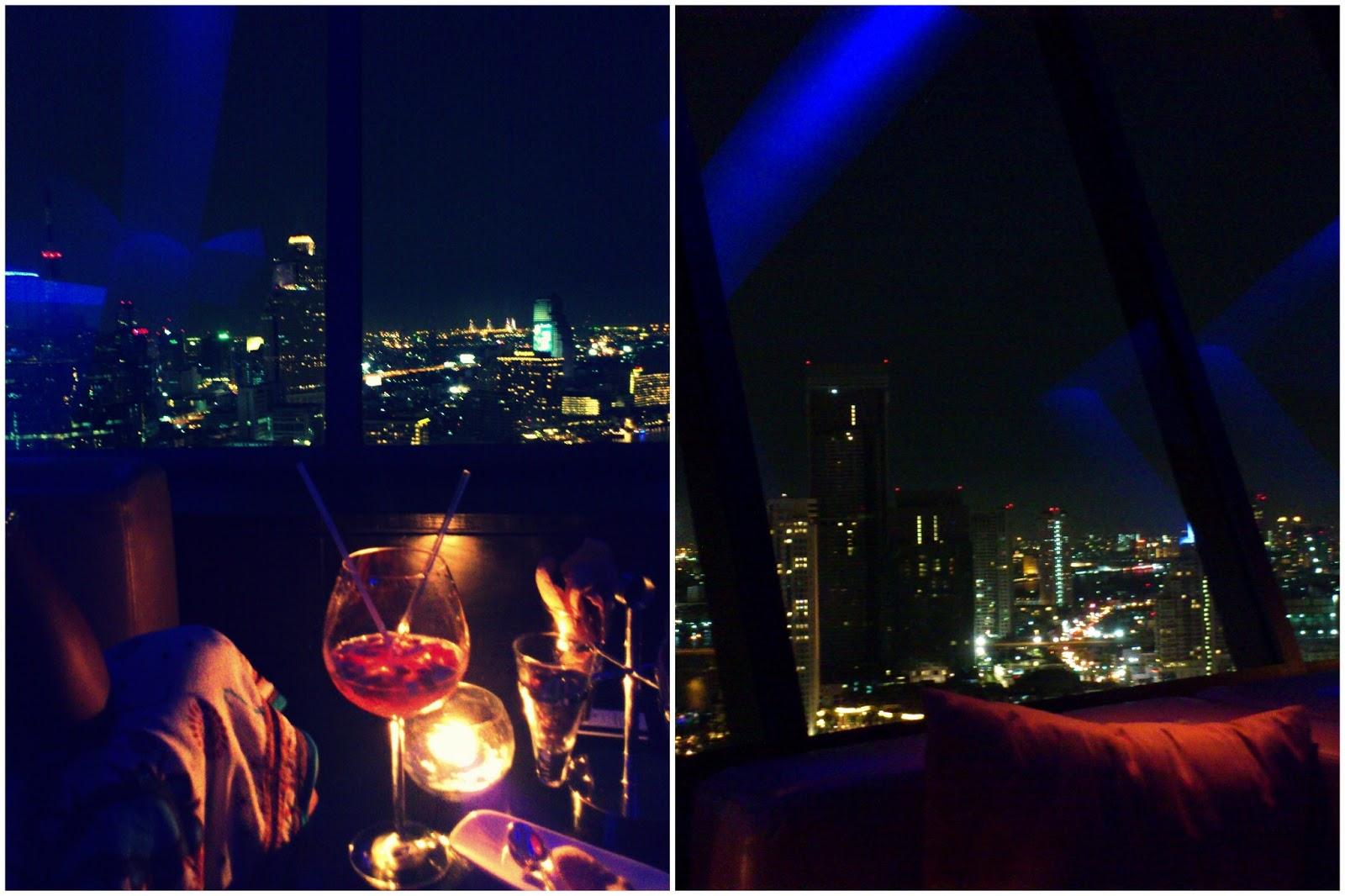 360 Degrees - The Bangkok skyline