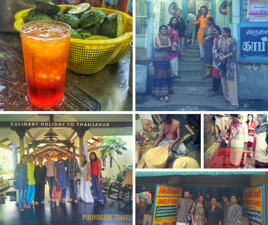 Culinary holiday to Thanjavur - Collage