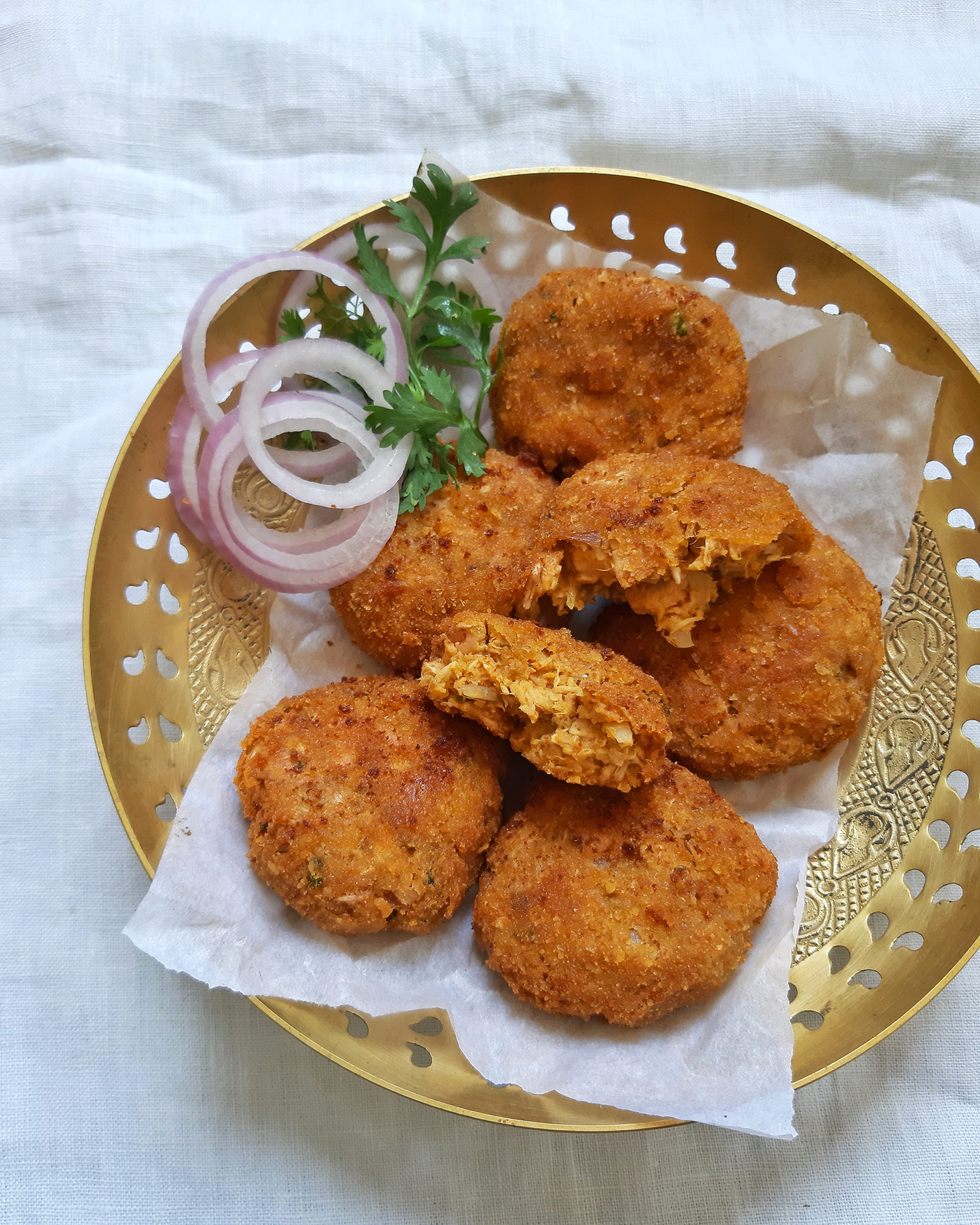 Raw jackfruit cutlets